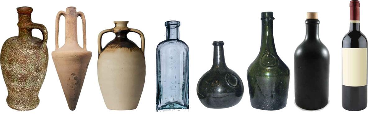 Verre a vin histoire - Bouteille en verre originale ...